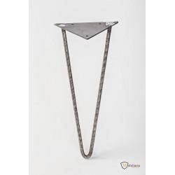Hairpin leg de caurado macizo de 14 mm.(soporta gran peso)