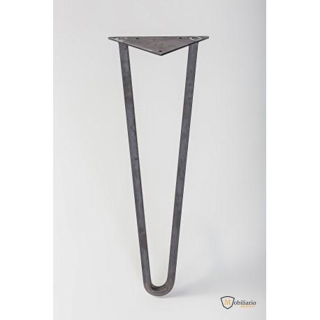 Hairpin Leg de cuadrado macizo de 14 mm.(grandes cargas)